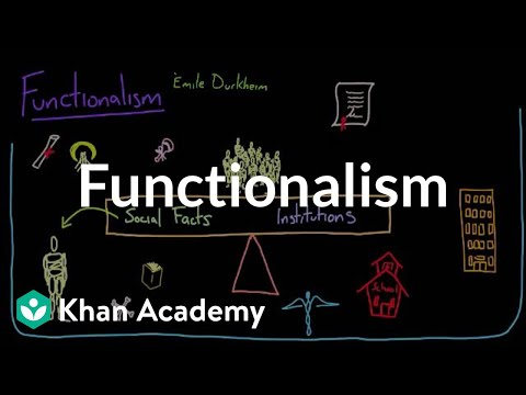 Functionalism | Society and Culture | MCAT | Khan Academy