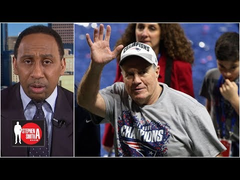 Rams had no solution to the wizardry of Bill Belichick and Brian Flores | Stephen A. Smith Show