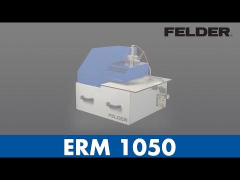 FELDER® - ERM 1050 - Kantrundingsmaskine