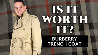Is It Worth It? - The Burberry Trench Coat - Review by Gentleman's Gazette - Видео от  Gentleman's Gazette