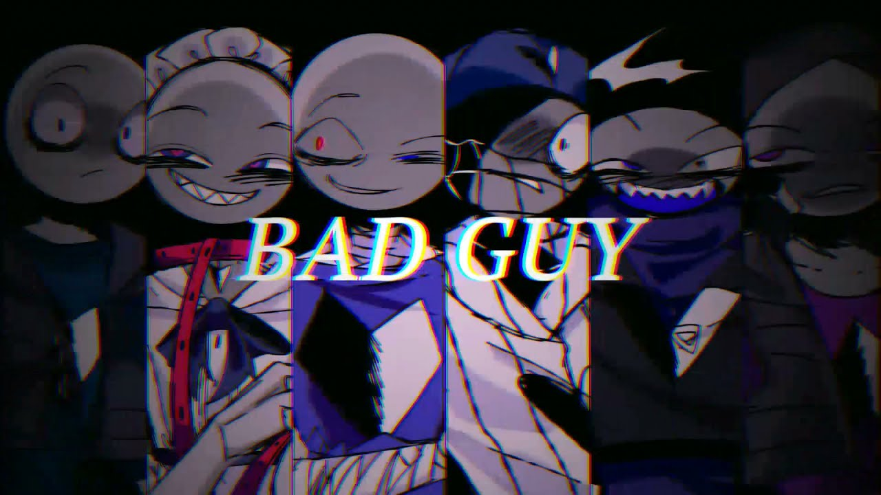 [Your Boyfriend Game AU] Bad Guy meme // Thank you for 3K subs!
