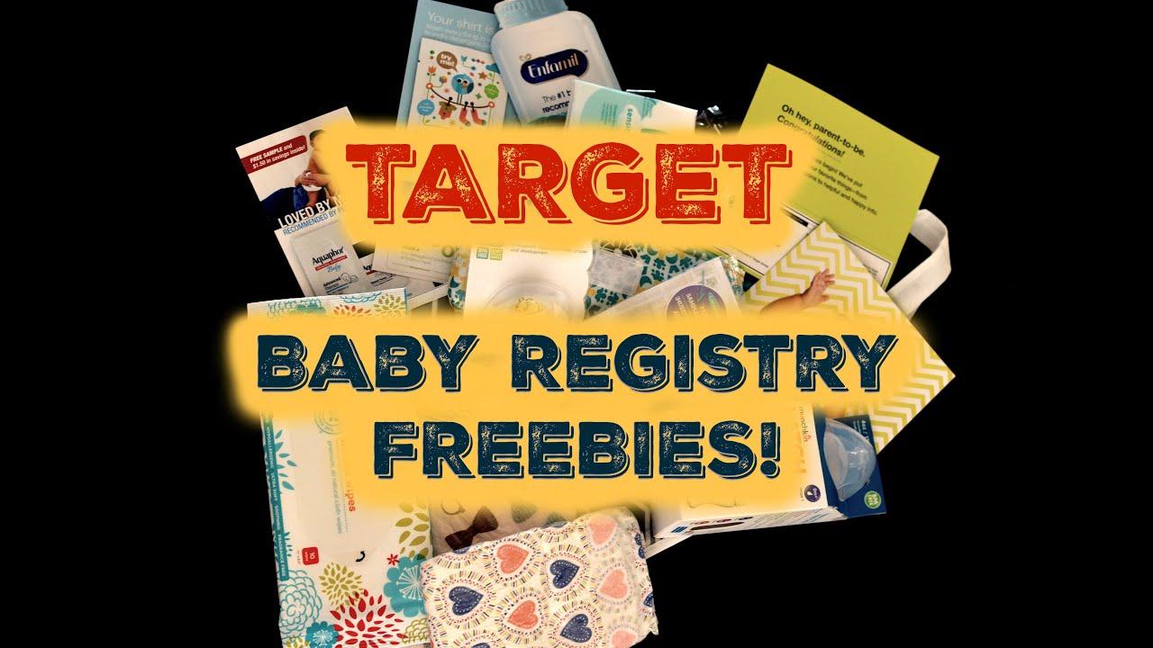 Target Baby Registry Freebies Review - YouTube