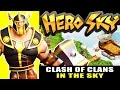 Hero Sky: Epic Guild Wars (Innospark) : Clash of Clans in the Sky ! ios Tutorial Gameplay