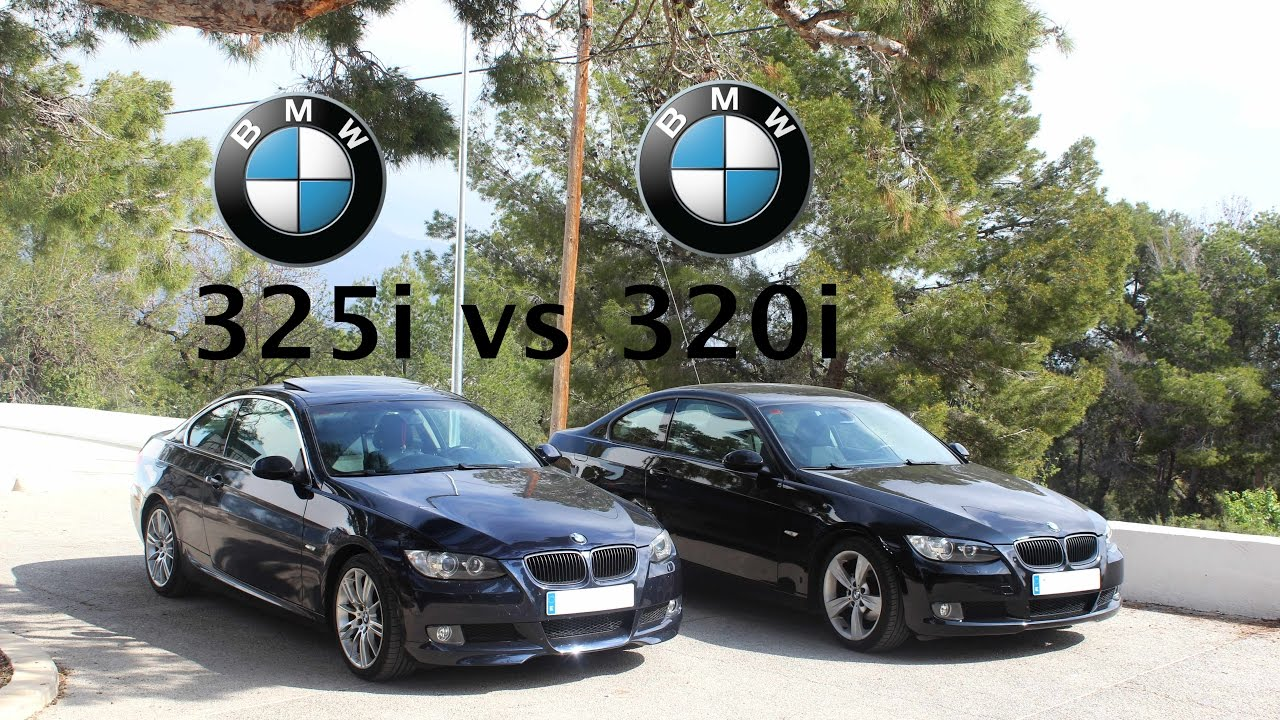artyur test drive comparacion bmw 325i vs 320i e92. Black Bedroom Furniture Sets. Home Design Ideas