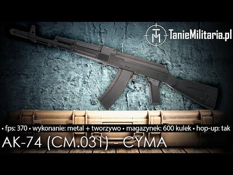 AK-74 (CM.031) FIRMY CYMA - TANIEMILITARIA.PL