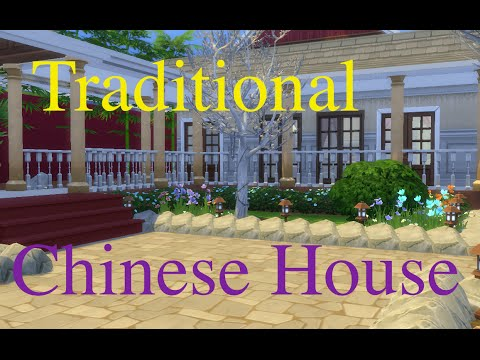 Sims 4 Speed Build Traditional Chinese House | Building