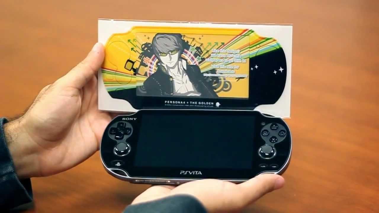 Persona 4 Golden: Applying the PS Vita Skin