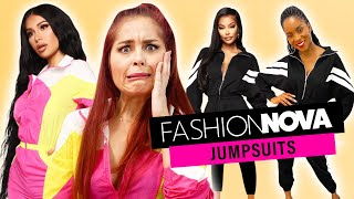 We Try Fashion Nova Rompers and Jumpsuits!!
