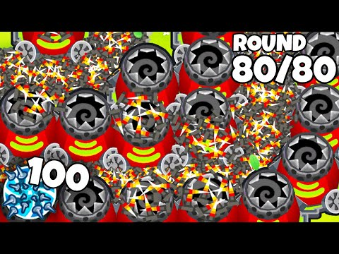 Will 100 Spike Storms CRASH Bloons TD 6?