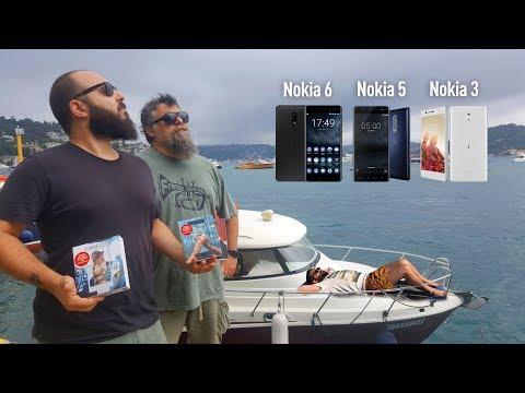 NOKIA 6, NOKIA 5 ve NOKIA 3 ÖZELLİKLERİ ve FİYATI