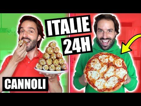 JE MANGE QUE DES RECETTES ITALIENNES PENDANT 24H - CARL IS COOKING