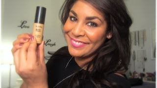 NYX HD Studio Photogenic Foundation ♥ First Impression, Application, & Review