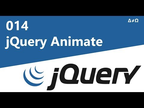 014 jQuery Animate Method - jQuery Tutorial for Beginners thumbnail