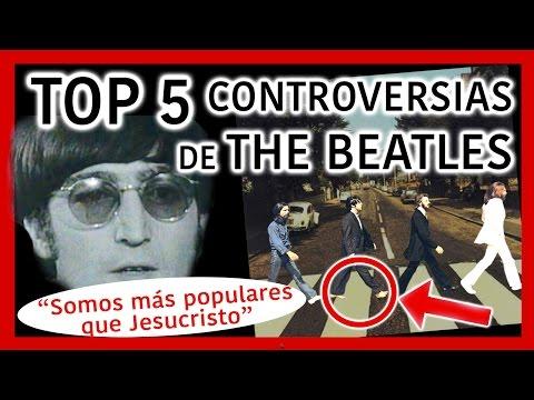 TOP 5 Controversias de THE BEATLES | Radio-Beatle