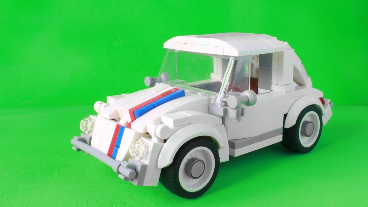 lego vw beetle herbie hardest car i have ever built. Black Bedroom Furniture Sets. Home Design Ideas