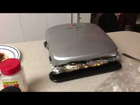 How to ALWAYS keep George Foreman Grill Clean (Lifehack)