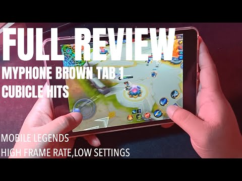 MYPHONE BROWN TAB 1 UNBOXING AND FULL REVIEW