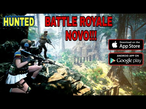 HUNTED - ANDROID/IOS - APK DOWNLOAD - NOVO BATTLE ROYALE