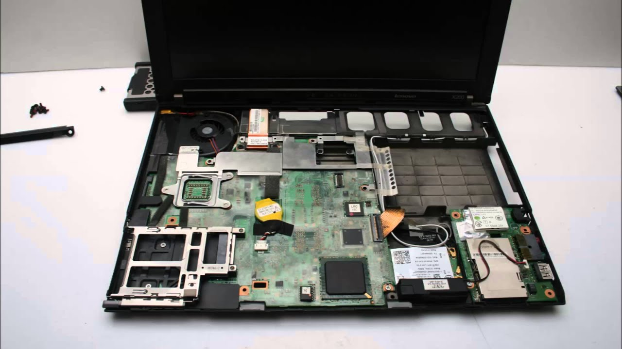 Lenovo X200 노트북 분해 Laptop Disassembly Youtube