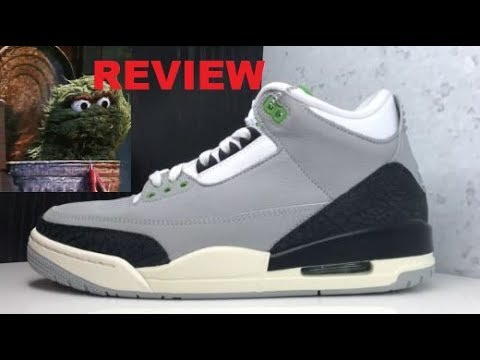 2fb16834f1c air jordan 3 Chlorophyll Green Retro Sneaker Review - THESE ARE TRASH !  #SNEAKERHEAD