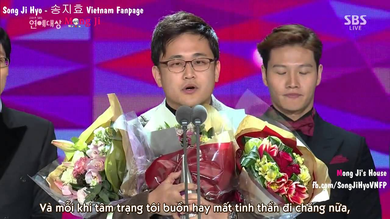 [MongJi'sHouse][Vietsub]Running Man Best Program Award SBS Entertainment  Award 2014