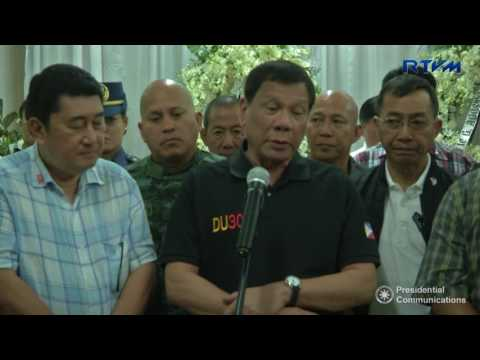 Media Interview - Negros Oriental 7/27/2017