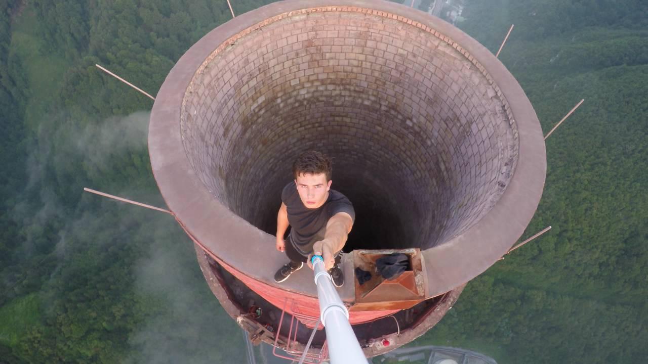 Wycieczka na najwyższy komin w Europie