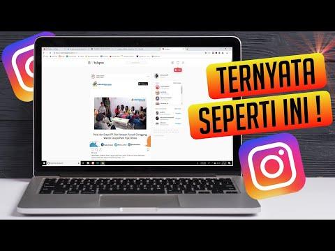 Mengupload Foto di Instagram biasanya dilakukan menggunakan Aplikasi IG di Android atau iPhone. Tern.