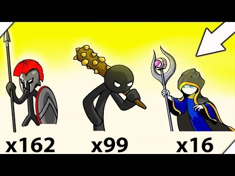 СТЕНА ИЗ ВЕЛИКАНОВ - Stick War Legacy Zombie Mode # 12
