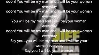 Asa -- Be My Man (lyric Video)
