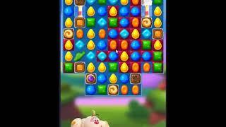Candy Crush Friends Saga Level 257 - NO BOOSTERS 👩👧👦 | SKILLGAMING ✔️