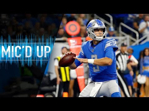 """Matthew Stafford Mic'd Up vs. Seahawks """"Keep executing on these dudes!""""   NFL Films"""