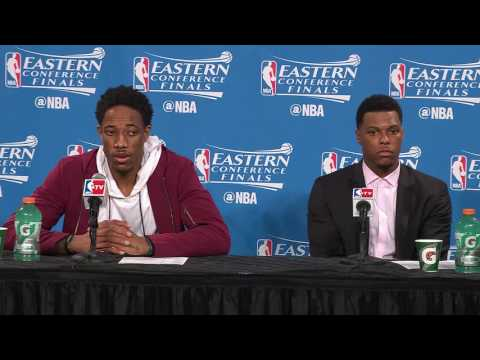 Raptors Post-Game: DeMar DeRozan & Kyle Lowry - May 17, 2016