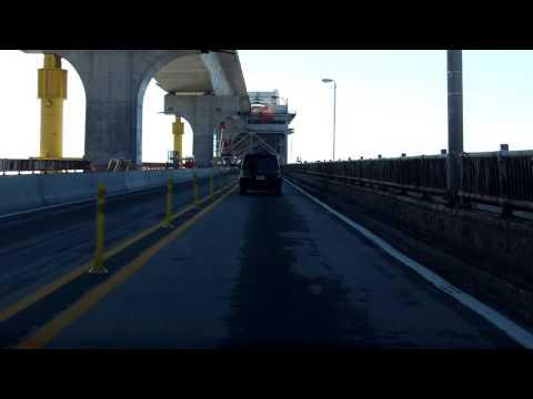 Bayonne Bridge southbound [Late 2016 Construction Update]