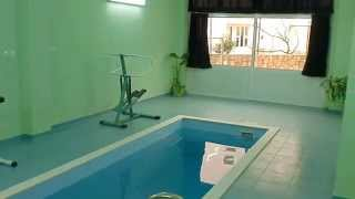 Pool and sauna at Bevcer Apartmantes in Novi VInodolski(, 2014-03-20T11:33:42.000Z)