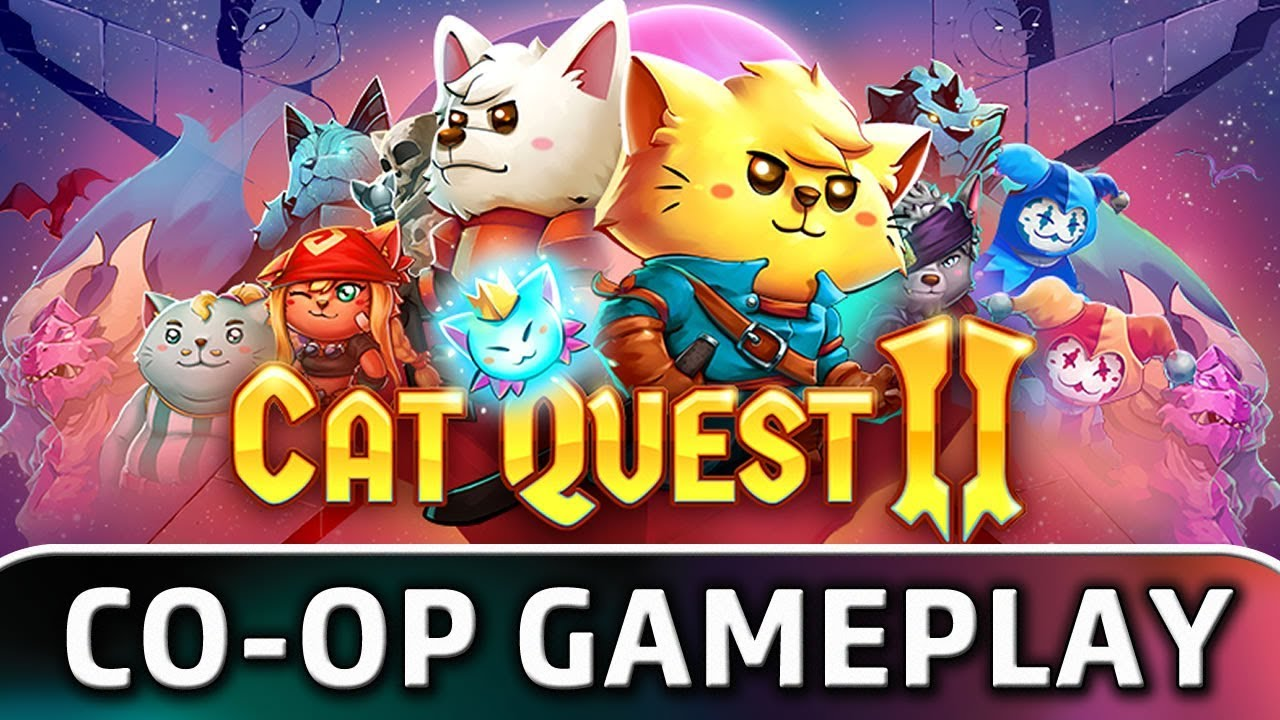 Cat Quest II | First 20 Minutes in Co-op