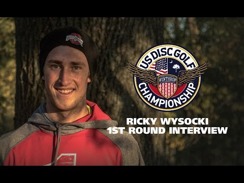 USDGC2015 First Round Interview - Ricky Wysocki