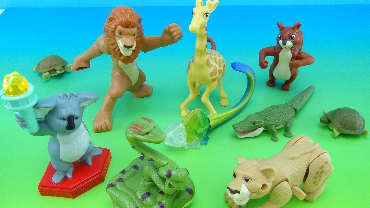 The Wild Toys : Disney s the wild mcdonald happy meal toys full