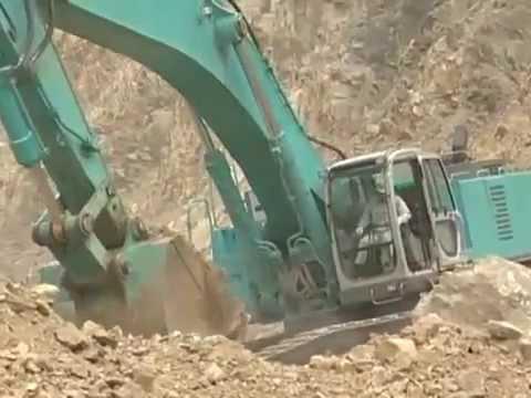 Escavadora Hidráulica Kobelco SK850LC