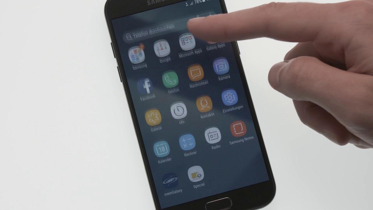 Samsung Kontakte Auf Sim Karte übertragen.Galaxy A Serie 2017 Kontakte Importieren Und Exportieren