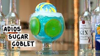 Adios Sugar Goblet - Tipsy Bartender