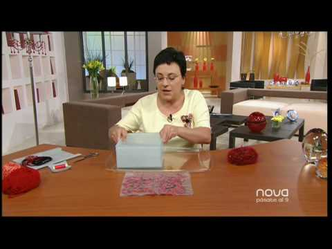 Utilisima bien simple florero de lana por marian san - Utilisima bien simple ...