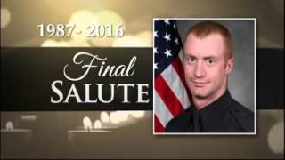 The last radio dispatch call for officer Allen Jacobs of the Greenv...