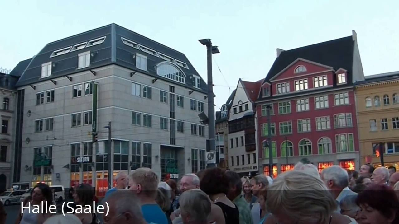 places to see in halle saale germany youtube. Black Bedroom Furniture Sets. Home Design Ideas