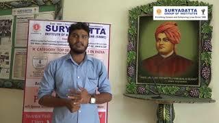 Aatish Bodhe - Suryadatta Group Of Institutes - Student Testimonial
