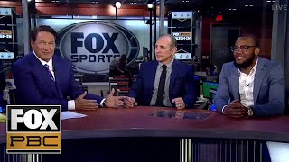 Julian Williams joins Chris Myers and Ray Mancini to talk Jermell Charlo vs Jorge Cota | PBC ON FOX