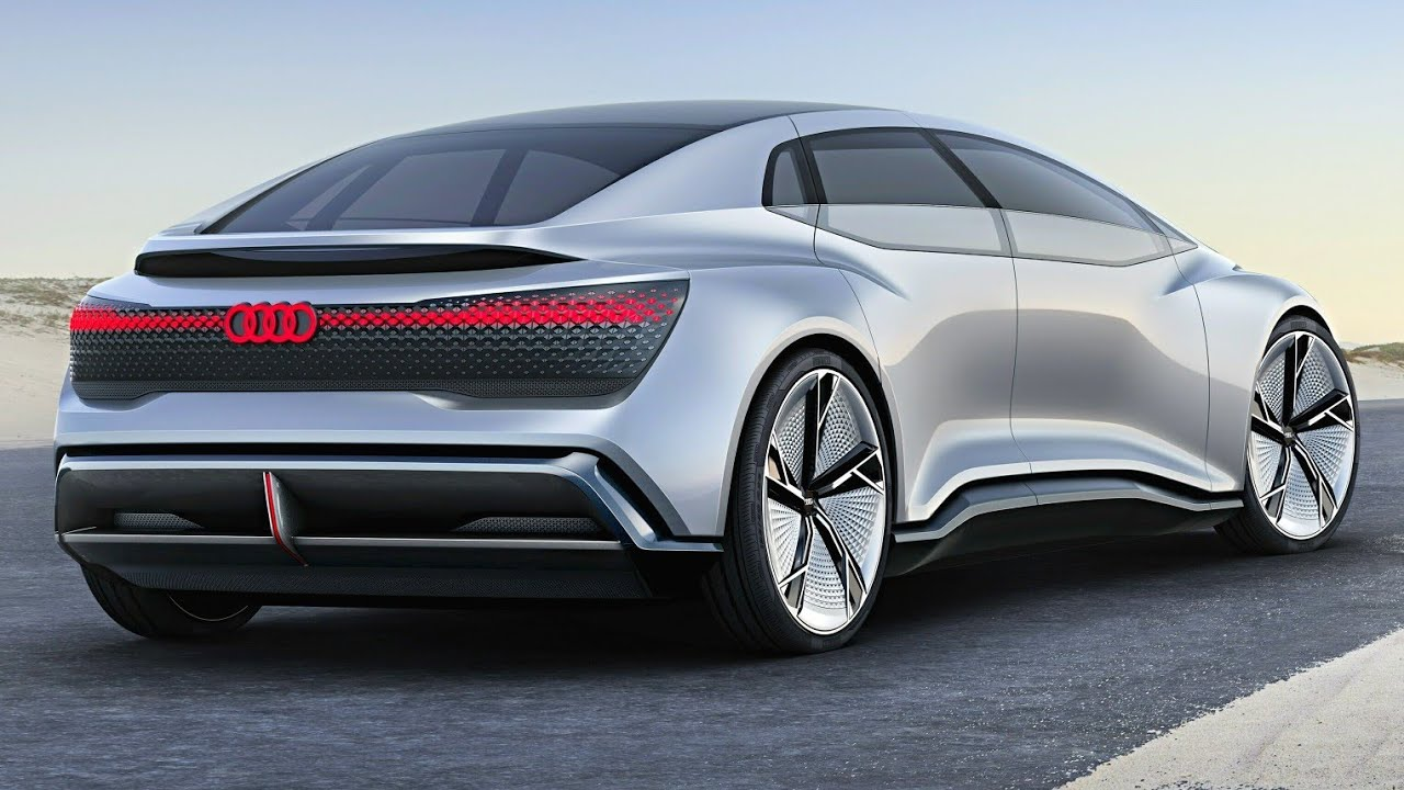 Audi Aicon Concept Interior Exterior And Self Driving Ev 500 Miles Range Luxury Suv