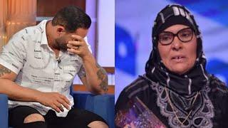 الشاب بشير : يأثر إلى حد البكاء بعد سماع رسالة والدته
