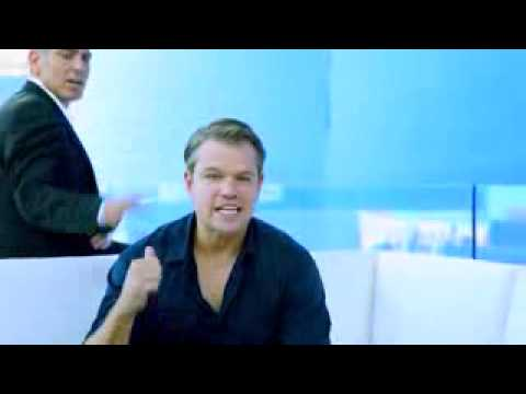 Matt Damon and George Clooney interview   Nespresso