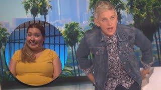 Ellen Degeneres Catches Audience Member